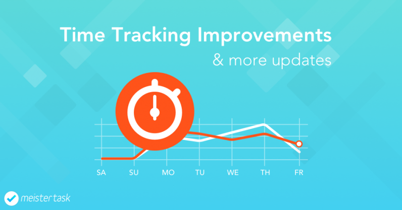 Time Tracking Improvements for MeisterTask