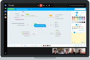 Mind Mapping in Google Hangouts