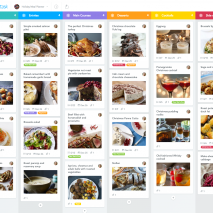 recipe planner with MeisterTask