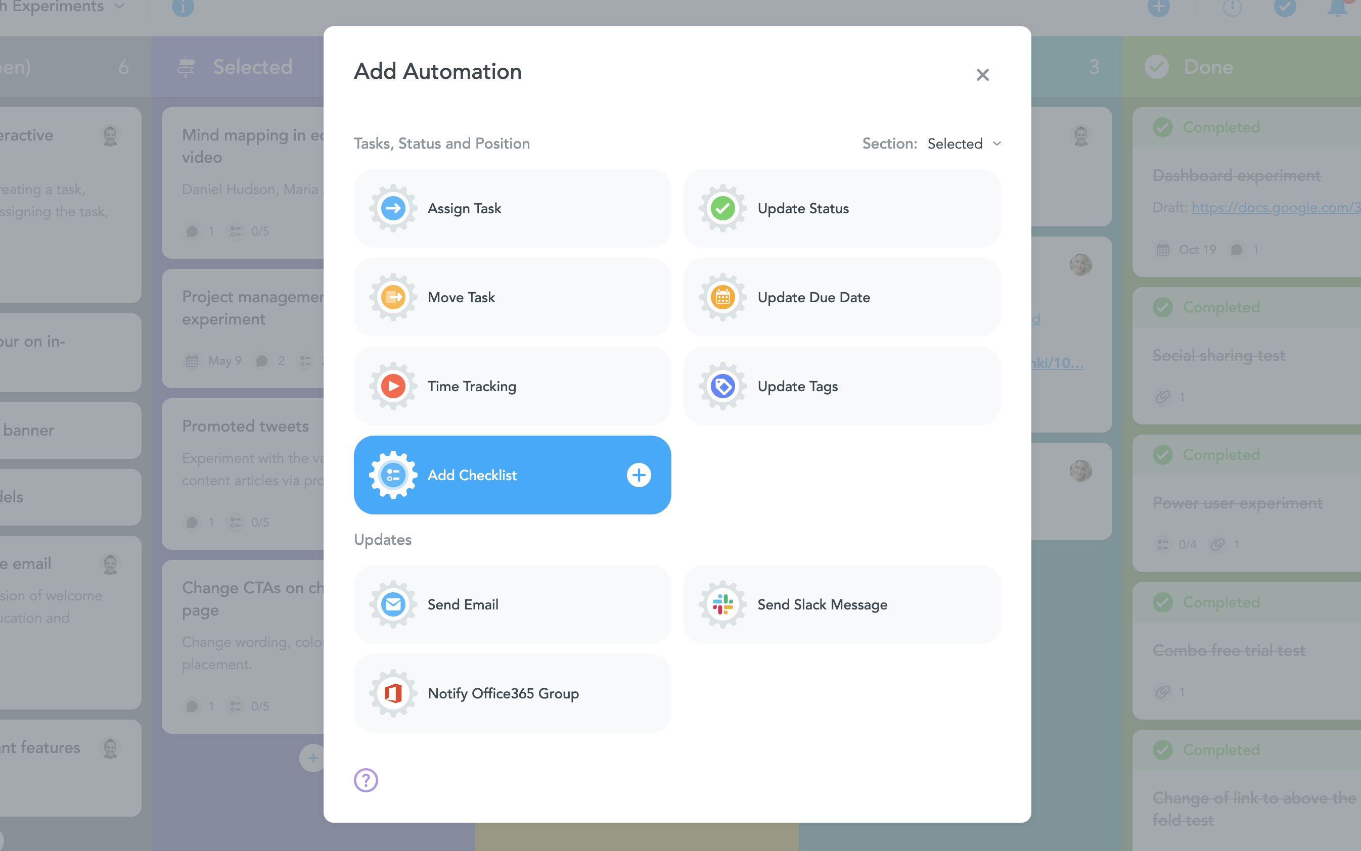 A Checklist For Checklists new: automatically add predefined checklists to tasks! - focus