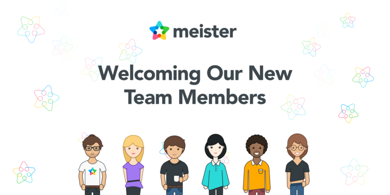 Welcome to The Meister Team: Felix, Maria and Sandra!