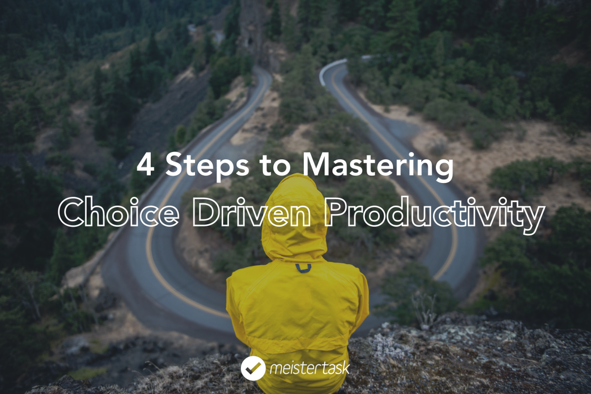 choice driven productivity task management