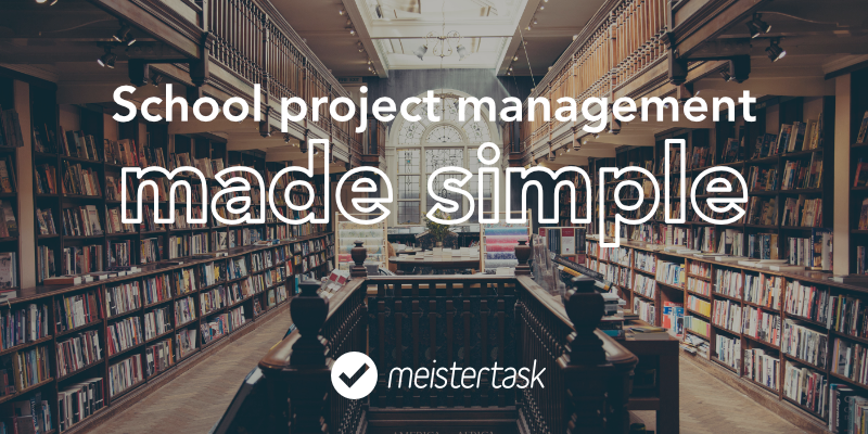 school project management tool meistertask