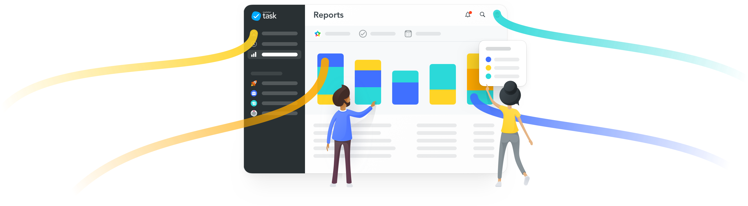 reports, meistertask reports, project report, kanban project report